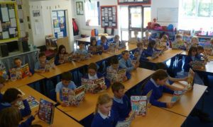 Phoenix classroom reading comics