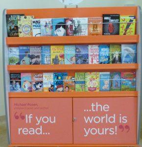 Readathon Bookcase