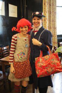 Miss Podavitte (Pippi Longstocking) and Mrs Scott (Mary Poppins) (2)