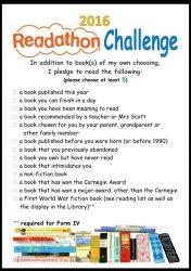 Readathon Challenge