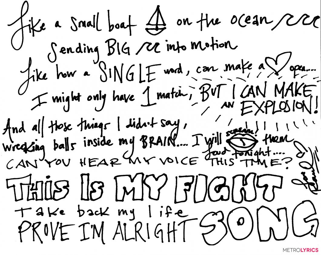 Song Lyrics Inspiration Read For Good