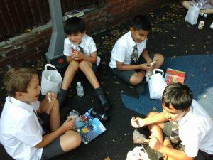 Pupils at The Study School