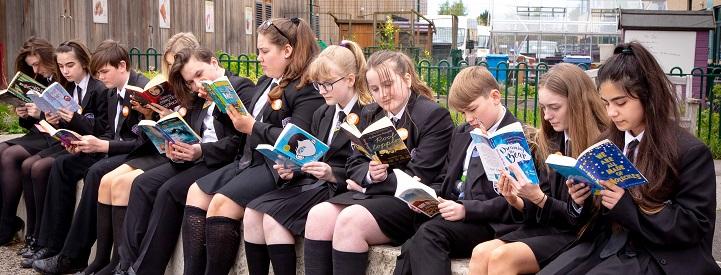 Gateacre School, Liverpool Readathon