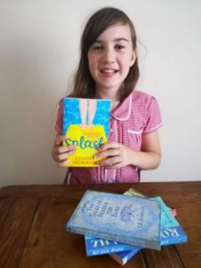 Emily makes a Splash with her books!