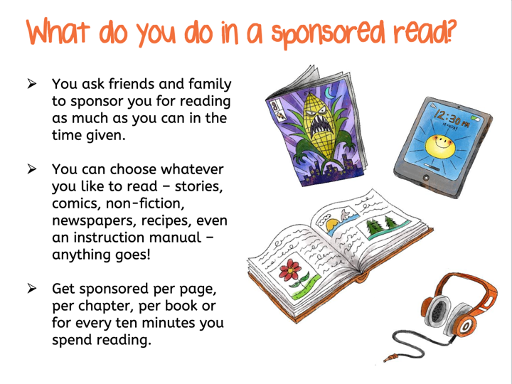 Downloads and extras for your sponsored read - Read for Good