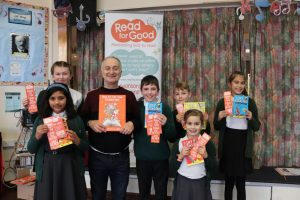 Tony Robinson at Greenfield Primary