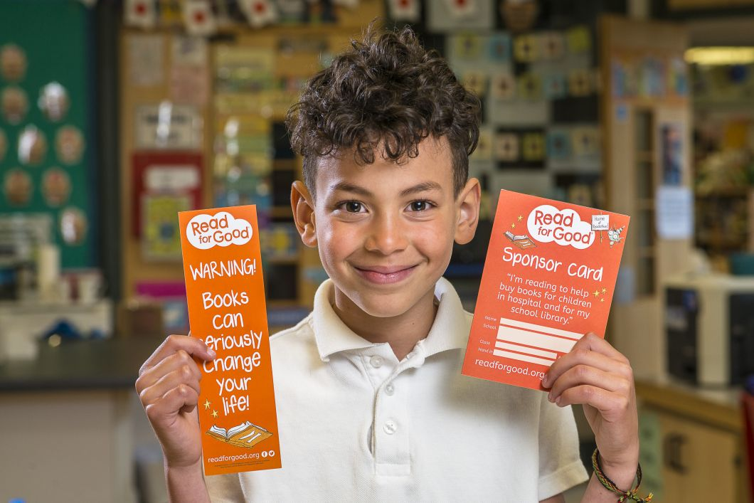 Pupil with Bookmark Sponsor Card